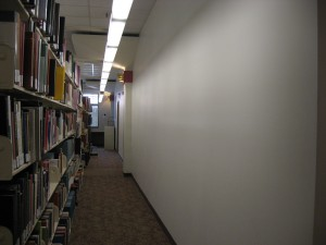 Hallway leading to Makerspace
